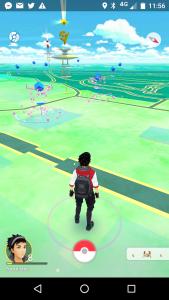 Pokémon Go aktiviertes Lock-Modul